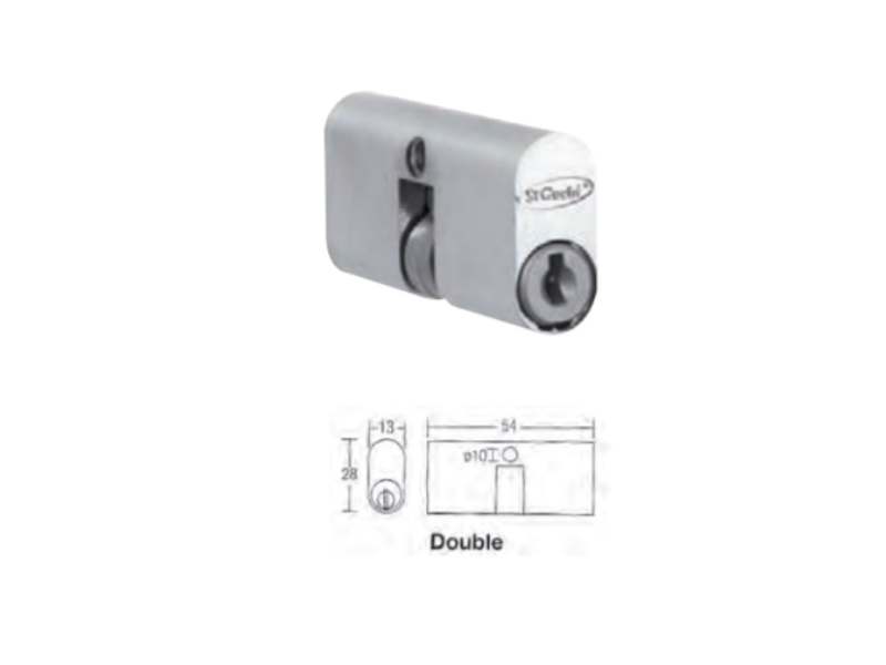 SGWSW-55MM Dead Lock Cylinder (Double)